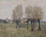 alfred sisley a normandy farm painting