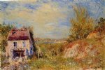 alfred sisley abandoned house ii paintings