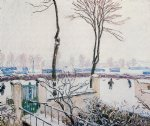 alfred sisley approach to the railway station painting