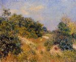 edge of fountainbleau forest by alfred sisley prints