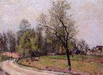 edge of the forest in spring evening by alfred sisley prints