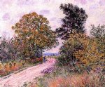 edge of the fountainbleau forest by alfred sisley prints