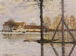 ferry to the ile by alfred sisley prints