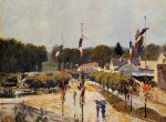 fete day at marly by alfred sisley prints