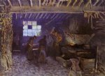 alfred sisley forge at marly painting