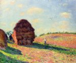 alfred sisley haystacks painting