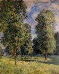 alfred sisley landscape at sevres painting 37342