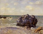 alfred sisley langland bay storr s rock morning paintings