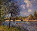 alfred sisley rowers paintings