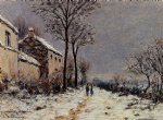 alfred sisley snow effect at veneux posters