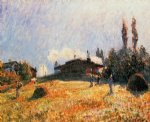 alfred sisley station at sevres posters