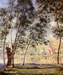 sunny afternoon by alfred sisley oil paintings