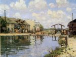 alfred sisley the canal saint posters