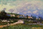 alfred sisley the laundry painting