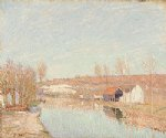 alfred sisley the loing and the slopes of saint posters