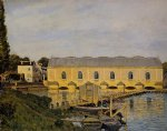 alfred sisley the machine at marly posters