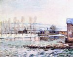 alfred sisley the mills at moret painting