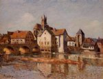 alfred sisley the moret bridge posters