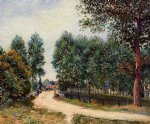 the path from saint by alfred sisley posters