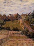 alfred sisley the rising path posters