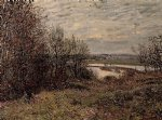 alfred sisley the roches painting