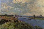 alfred sisley the seine at saint posters
