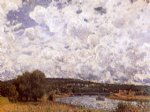 alfred sisley the seine at suresnes posters