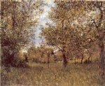 alfred sisley the small meadow at by posters