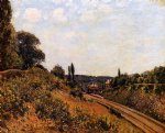 alfred sisley the station at sevres art