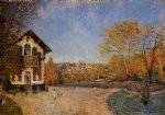 alfred sisley view of marly art