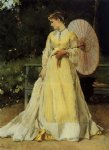 in the country by alfred stevens painting
