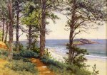 alfred thompson bricher narragansett seascape painting-37157