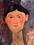 beatrice hastings by amedeo modigliani painting