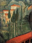 amedeo modigliani landscape southern france painting 36891