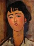 amedeo modigliani portrait of a woman ii painting 36932