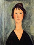 amedeo modigliani portrait of a woman iii painting 36933