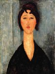 amedeo modigliani portrait of a young woman ii painting 36942