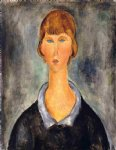 amedeo modigliani portrait of a young woman iii painting 36943