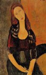amedeo modigliani portrait of jeanne hebuterne iv painting 36970