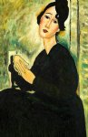 amedeo modigliani portrait of madame hayden 1918 gallery wrap painting 36980