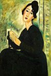 amedeo modigliani portrait of madame hayden 1918 painting 36981
