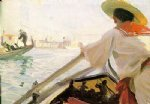 anders zorn in my gondola painting