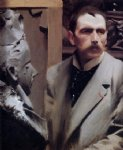 anders zorn self portrait painting