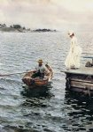 summer fun by anders zorn painting