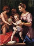 holy family by andrea del sarto painting