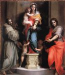 madonna of the harpies by andrea del sarto painting