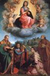 virgin with four saints by andrea del sarto painting
