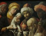 adoration of the magi by andrea mantegna painting