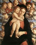 the madonna of the cherubim by andrea mantegna painting