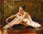 before the dance by andrew atroshenko painting